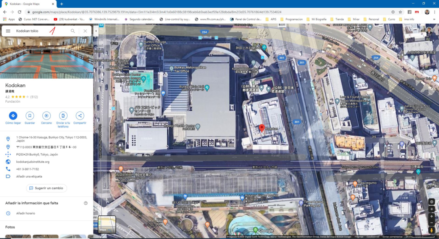 Insertar mapas desde Google Maps